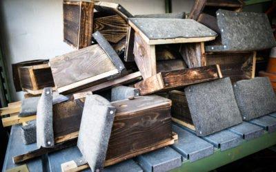 Naturschutzprojekt: Bauen von Nistkästen